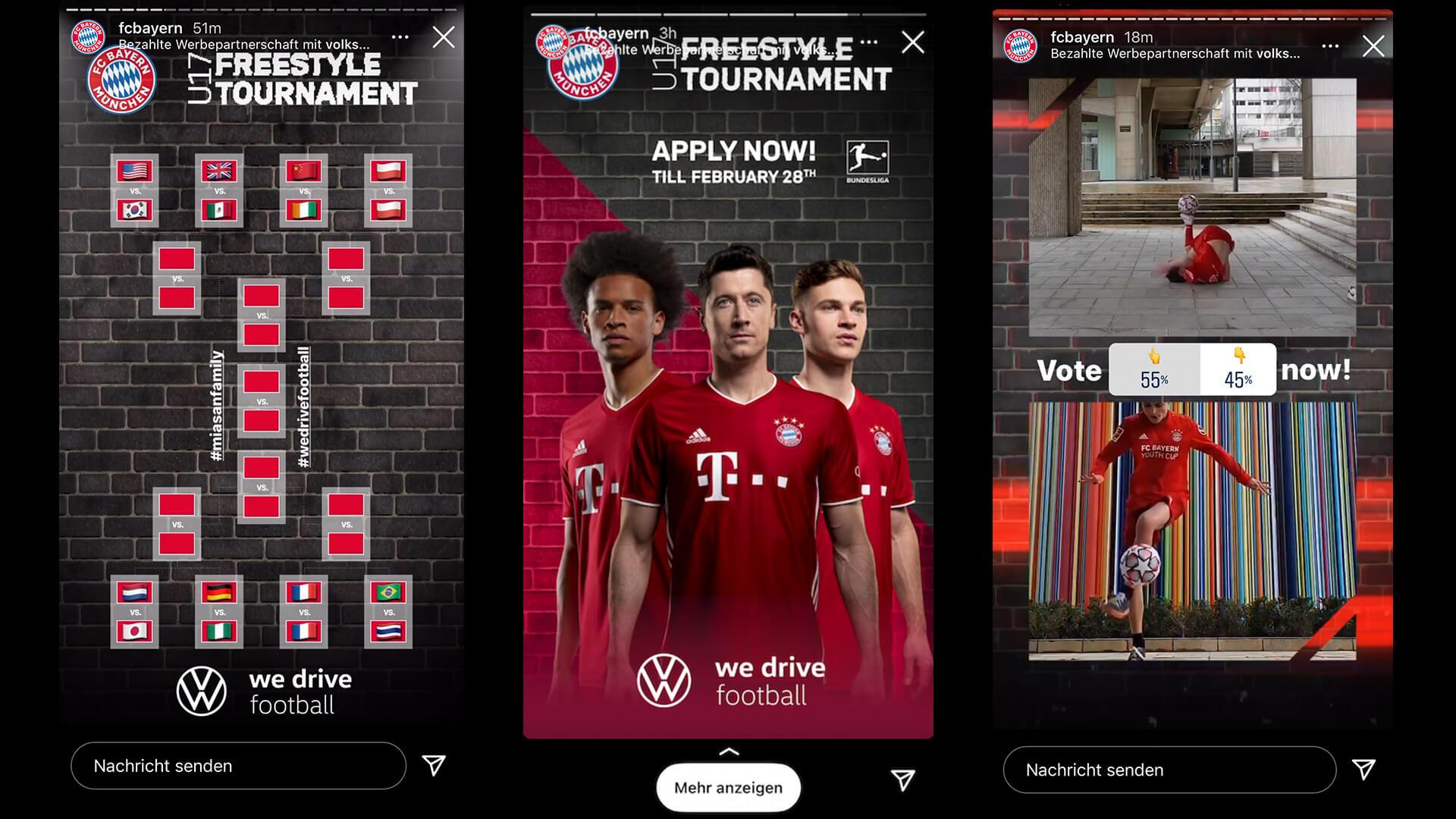 Bayern München Freestyle Social Media Contest