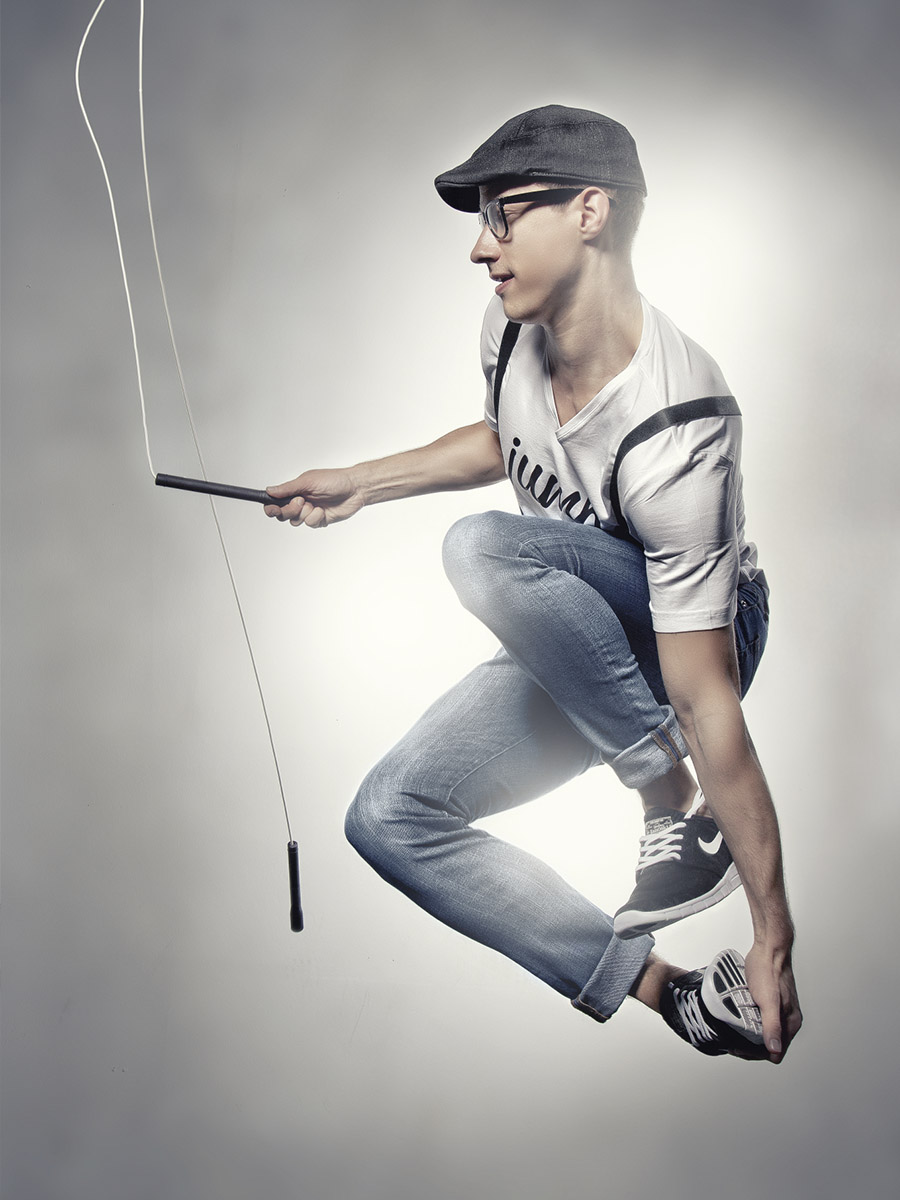 solo rope skipping showact