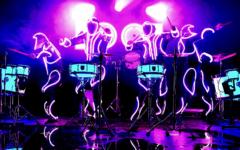led-drumm-show