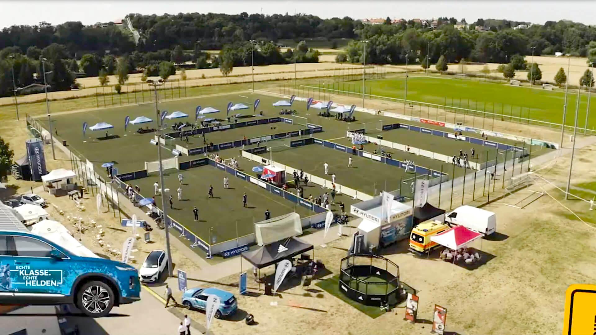 Eventorganisations Agentur zum Thema Fussball