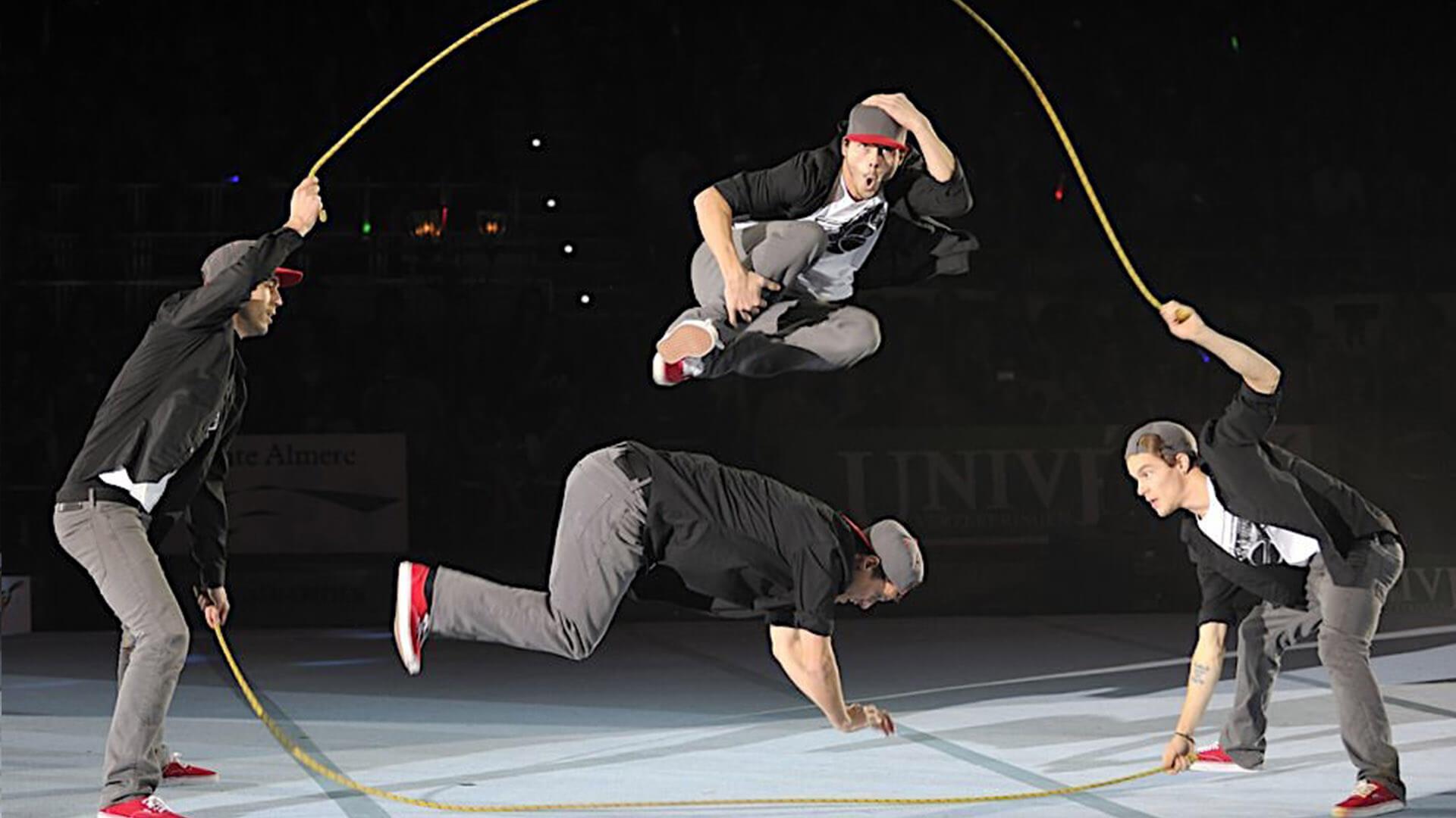 rope skipping showact